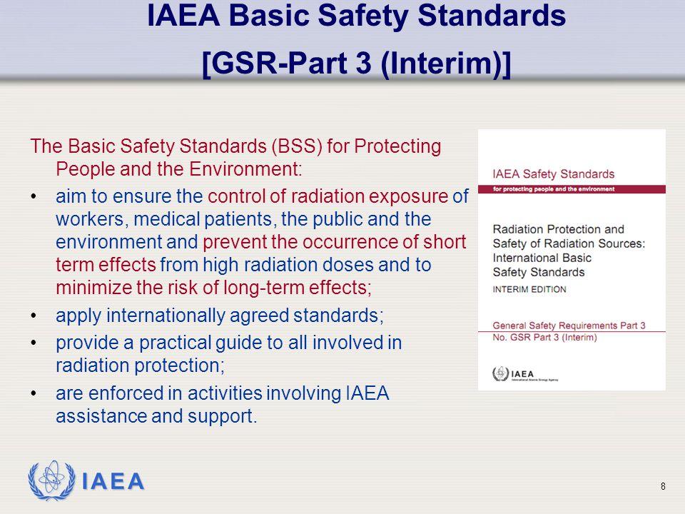 IAEA Basic Safety Standards [GSR-Part 3 (Interim)]